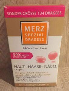Витамины из Германии Merz Spezial