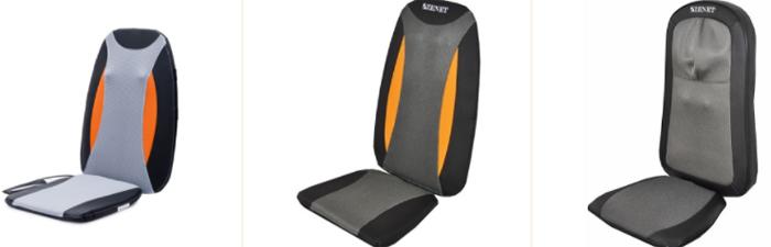 Как работает массажная накидка на кресло?